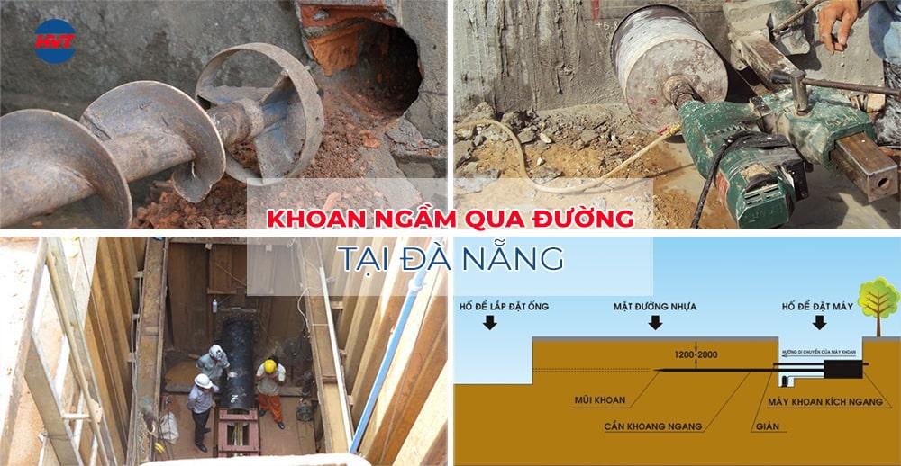 Dịch vụ khoan ngầm qua đường Đà Nẵng UY TÍN - CHẤT LƯỢNG
